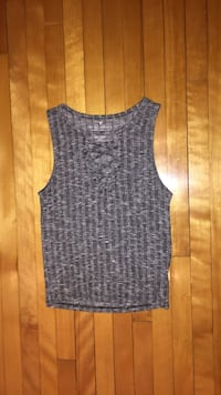 American Eagle Outfitters women's gray tank top