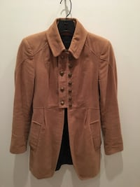 brown button-up jacket New York, 10038