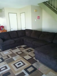 Brown sectional couch  Santa Maria, 93454