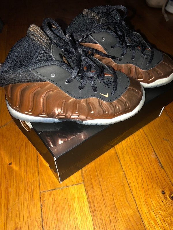 a780d2c851e Used Foamposites- toddler copper for sale in New York - letgo