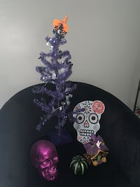 Miscellaneous Halloween decorations skull Tampa, 33624