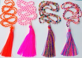 NEW!! BEADED NECKLACES