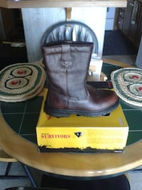 brown leather Survivor cowboy boots Elkton, 21921
