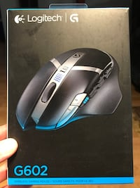 (New) Logitech G602 Wireless Gaming Mouse Mississauga, L5C 4L5