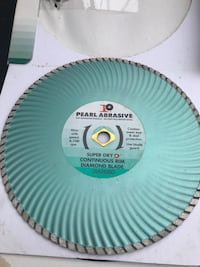 gray and teal Pearl Abrasive diamond blade Yonkers, 10701