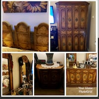 solid wood bedroom set • great condition Pleasantville, 10570