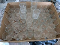 Wedding clear and silver votives  Mississauga