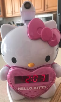 Hello kitty clock with alarm  Nokesville, 20181