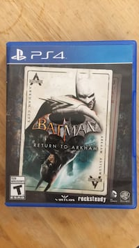 Batman Return to Arkham (PS4) 2662 km