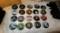 25 assorted Sony PS3 game discs and 4 XBOX 360 gam Florida, 10921