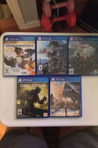 5 games for sale Sooke, V9Z