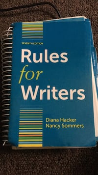 Rules For Writers Annandale, 22003