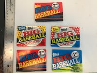 Tops Big Baseball cards unopened Billings, 59101
