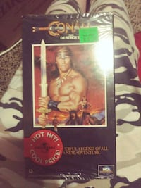 Conan the destroyer VCR tape Springfield