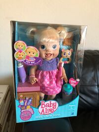 Baby Alive Baby's New Teeth Doll