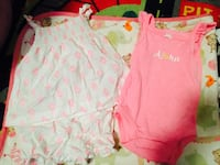 toddler's white and pink dress and shirt Buena Park, 90621