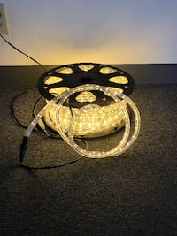New $75 Warm White 150ft LED Rope Light Decorative Lighting South El Monte