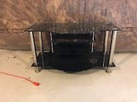 black and gray TV stand Milton