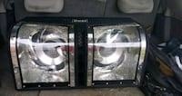 two black and gray subwoofer speakers Williamsport, 43164