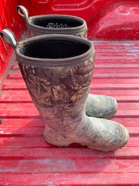 Camo Muck Boots Size 13 for sale worn once they do have a little dirt on them. $150 or best offer Claymont, 19703