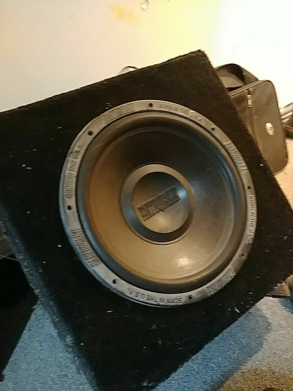 15 inch earthquake subwoofer