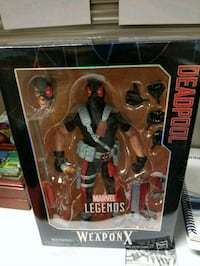 Marvel Legends Deadpool Weapon X 12 inch Indianapolis, 46220