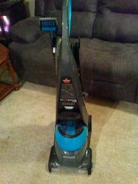 black and blue upright vacuum cleaner South Bend, 46613