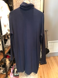 Navy Kit and Ace sweater dress Edmonton, T5K