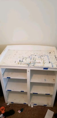 White Changing Table/Children's Cabinet