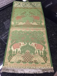 "Two pockets elephant postcards or envelopes holder. Each pocket is about 10""by 10"" Lutherville Timonium, 21093"