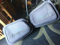 gray and white leather bag Tulare, 93274