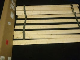 Heavy duty spruce bed slats bunkie board