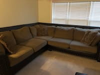Beautiful large two piece L shaped couch in great condition. Needs a new home due to me moving.  Vienna, 22181