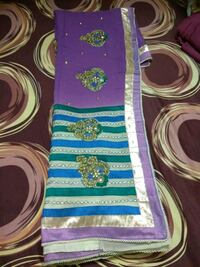 purple, green, and yellow floral textile Bengaluru, 560037