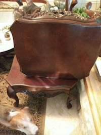 Mahogany coffee table and 2 end tables Gaithersburg