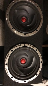 Two 12 Kenwood Typhoon Subwoofer With Box  Mississauga, L4T 3T5