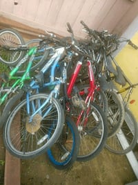 assorted color bicycles and bicycles Fresno, 93727