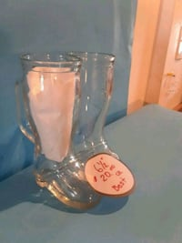 Frankenmuth glass boot mugs  Ypsilanti, 48197