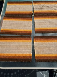 Vintage Woven Placemats Montreal, H8N