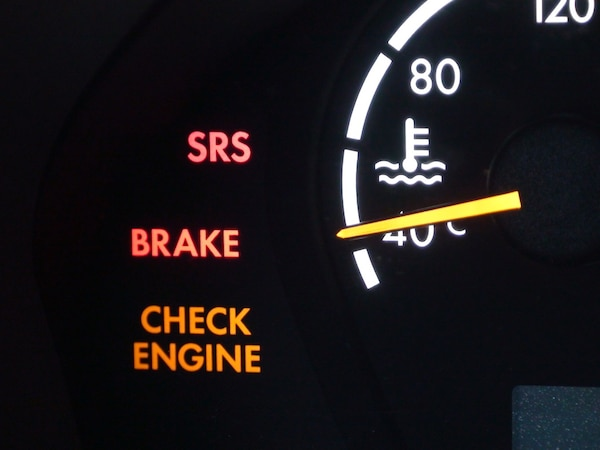 Mechanical service! Check engine light reset