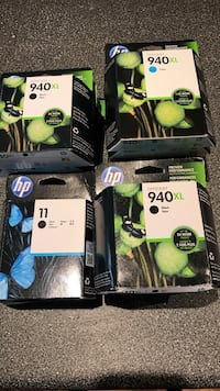 four HP ink cartridge boxes Mississauga, L5R 3N4