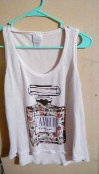 white and black tank top Bowling Green