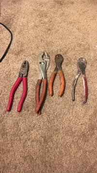 Assorted pliers  Salt Lake City, 84116