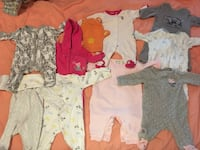 Baby's assorted clothes Coquitlam, V3B 2P5