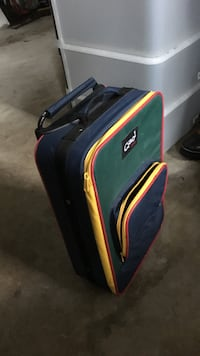 black-green-and-red luggage Upper Saddle River, 07458