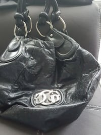 black leather Coach shoulder bag Edmonton, T5Y