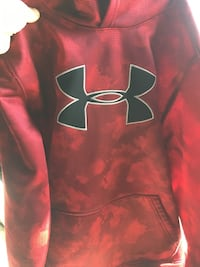 red and black Under Armour pullover hoodie Flushing, 48433