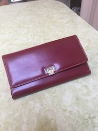 women's brown leather purse by Liz Claiborne  Hawley, 18428