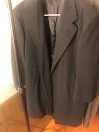 gray notched lapel suit jacket Manassas, 20111