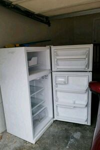 white top-mount refrigerator  Rocky Top, 37769